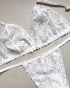White Lace Set