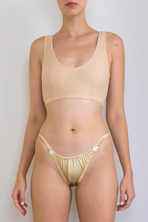 gold silk briefs