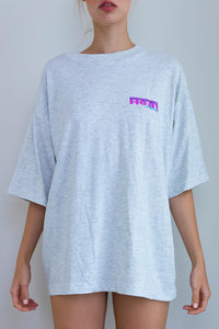 Grey Oversized Vintage T-Shirt