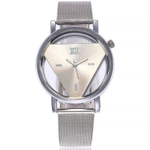 Transparent Triangle Watch