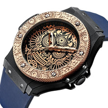 Load image into Gallery viewer, Mayan Skull Watch - TimesGent