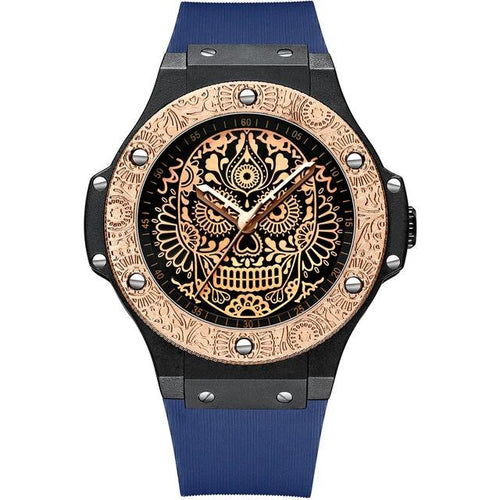 Mayan Skull Watch - TimesGent