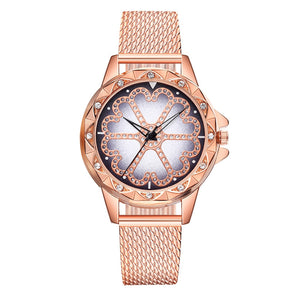 Metal Flower Watch - TimesGent