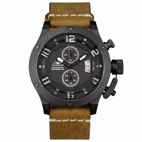 Classic Aircraft Watch<br> 48mm