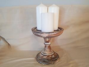 Large Candle holder - Dusty Sea Home Decor