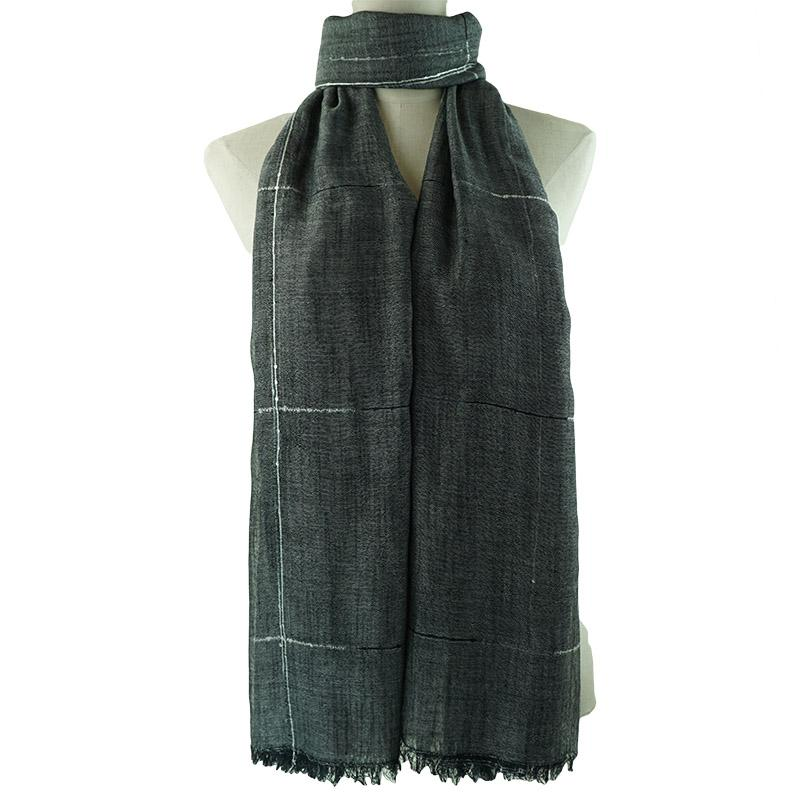 Abigail Designer Scarf Scarf Black - Dusty Sea