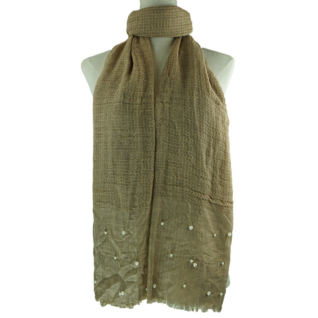 Florence Scarf Scarf Coffee - Dusty Sea