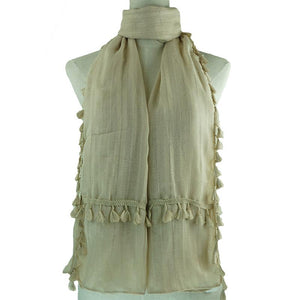 Layla Scarf Scarf - Dusty Sea