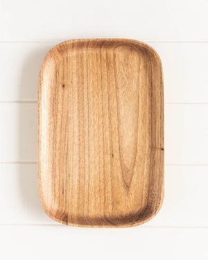 Soweto Tray Wooden Decor - Dusty Sea