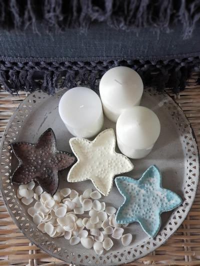 Starfish Trinket Trays Home Decor - Dusty Sea