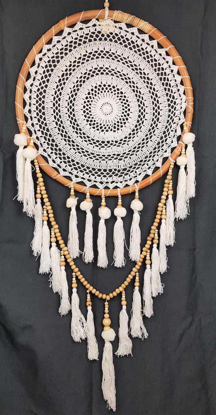 Tikka White Dream Catcher