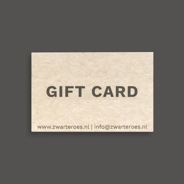 zwarte-roes-coffee Gift card Zwarte Roes