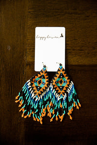 Tribal Fringe Earrings