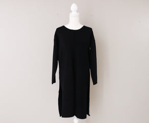 Black Tunic with Cut Outs