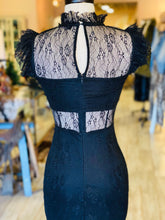 Load image into Gallery viewer, Black Lace Dress