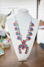 Load image into Gallery viewer, Multicolored Horse Shoe Necklace