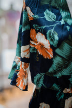 Load image into Gallery viewer, Dark Floral Romper