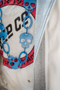 Ocean Blue Skull Necklace