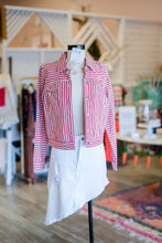 Load image into Gallery viewer, Red Stripe Jacket