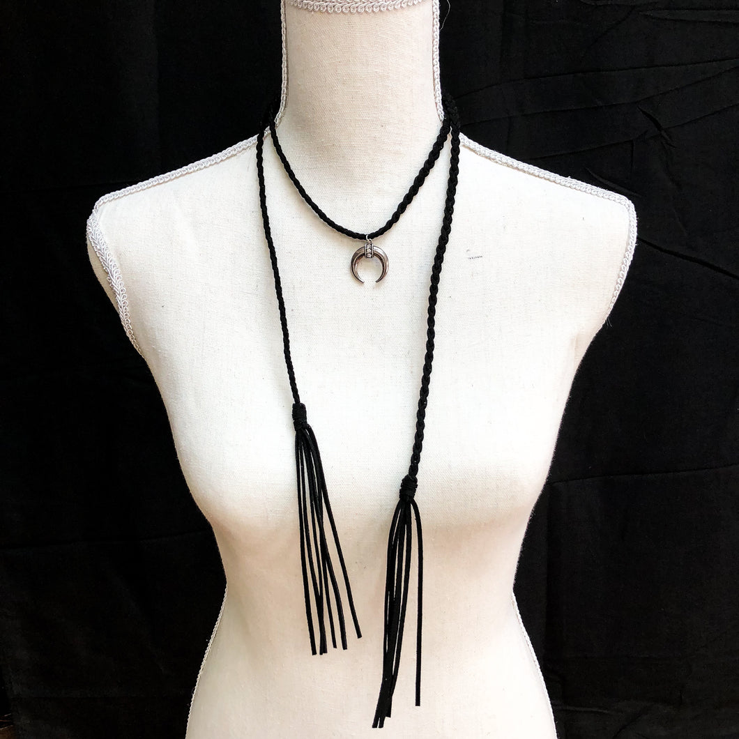 Black Braided Choker