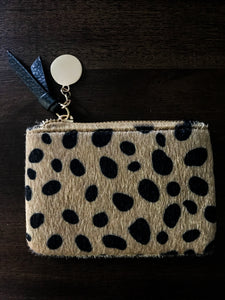 Cheetah Print Change Purse