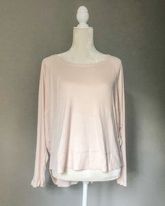Light Pink Long Sleeve Top