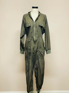 Army Green Flight Suit