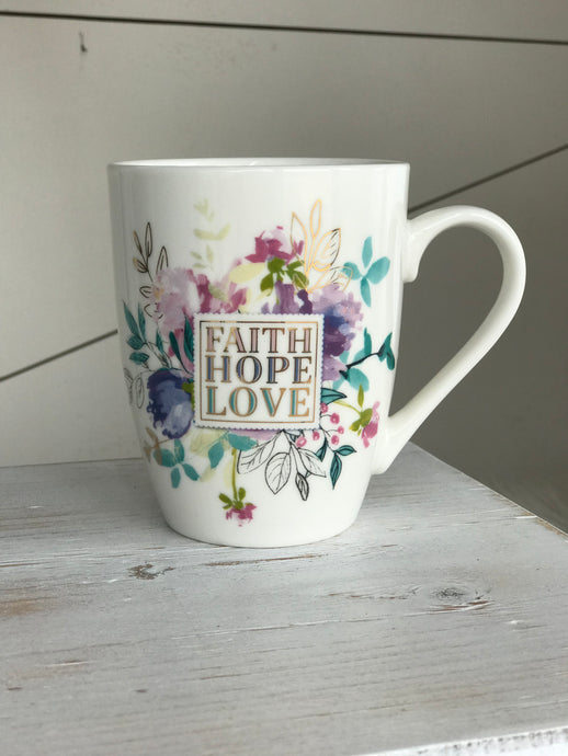 Faith, Hope, & Love Mug