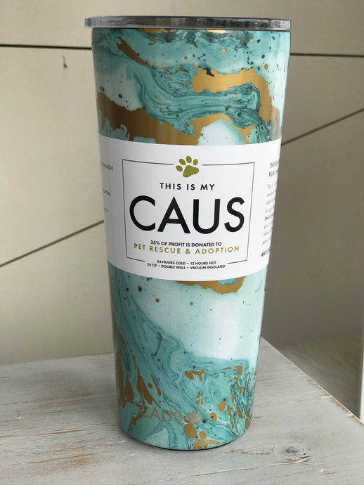 Blue Marble Caus Tall Mug