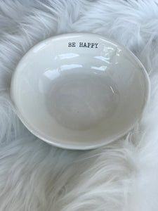 Be Happy Jewelry Bowl