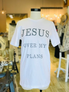 White  Jesus T-shirt