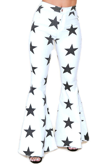 White Star Bell Bottoms
