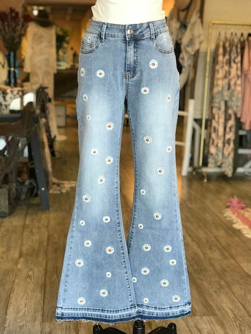 Daisy Bell Bottom Jeans