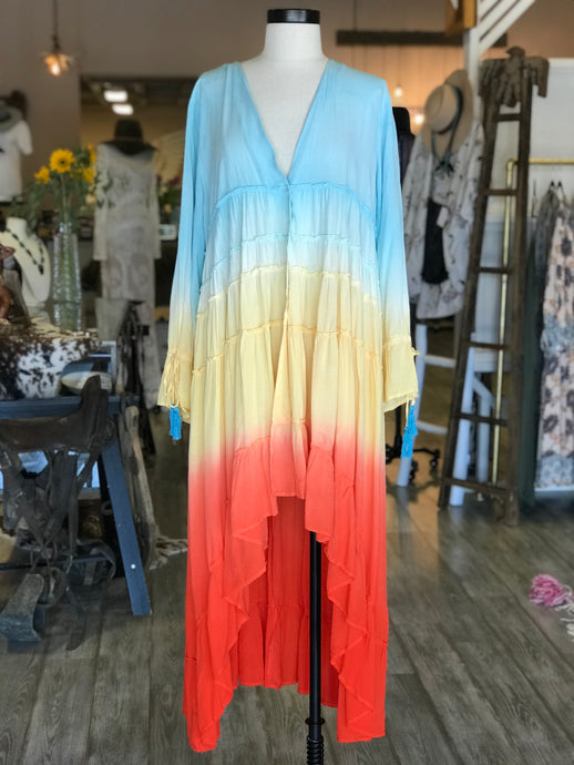 Colorful Ombre Dress