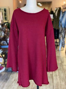 Long sleeve shirt/dress