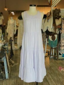 Lavender Cloth Dress