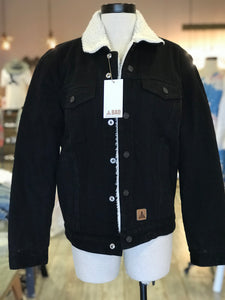 Black Denim BAD Jacket