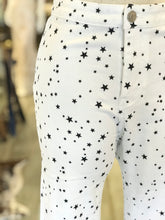 Load image into Gallery viewer, White Star Jeans