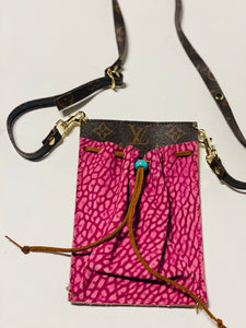 Pink Louis Vuitton Crossbody