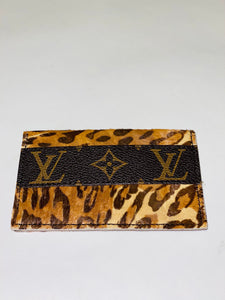 Leopard Louis Vuitton Card Holder