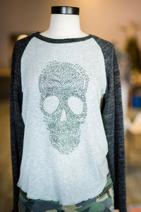 Lightweight Skull Sweater
