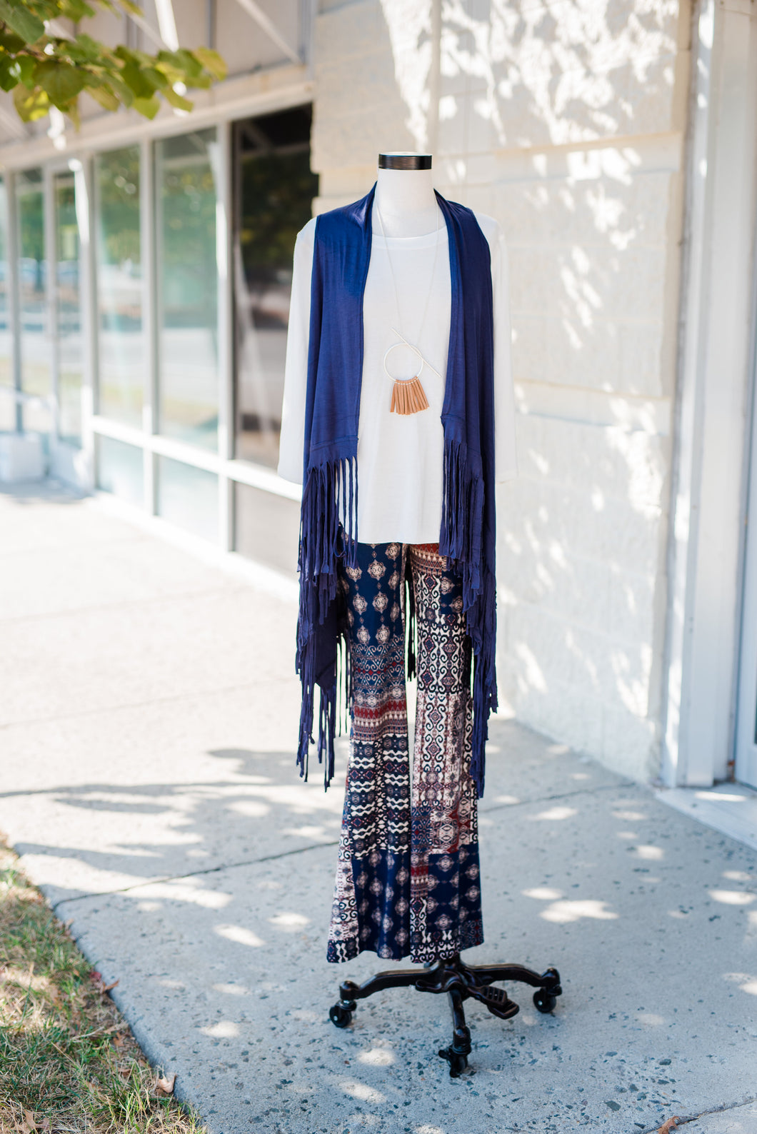 Multi-print Bell Bottoms