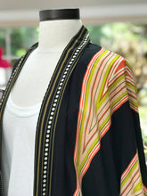 Load image into Gallery viewer, Geometric Silk Cardigan