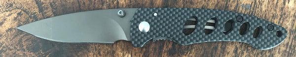 Carbon Fibre Design Knife