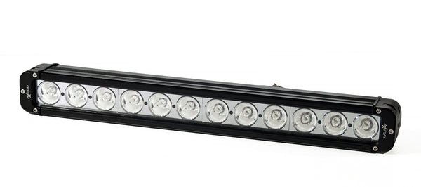 Single Row LED Spot Beam Light Bar 120W B4