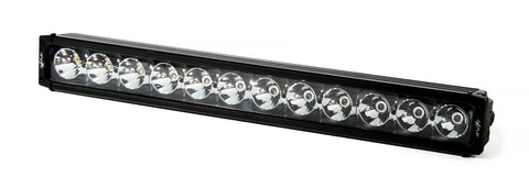 Single Row Spot Beam LED Lightbar 120W B4U
