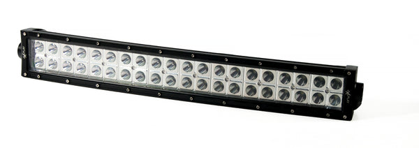Dual Row LED Spot Beam Light Bar 120W B8O