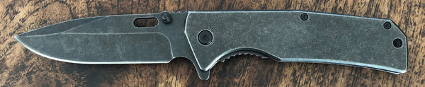 Distressed Metal Knife