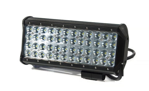 Quad Row LED Spot Beam Lightbar 144W B10