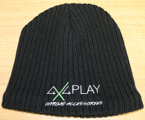 Beanie Black - Polyester Unfolded